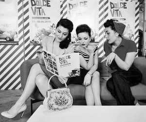 50's, gossip, and friends image