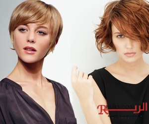 hair, hairstyles, and short image