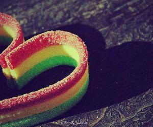 heart, candy, and sweet image