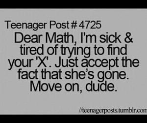 math, funny, and teenager post image