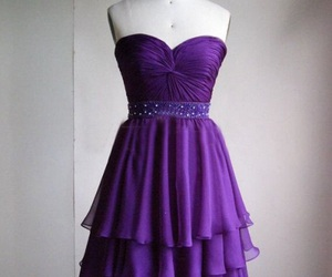 beautiful, dress, and Prom image