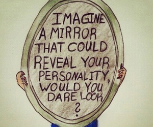 imagine, look, and mirror image