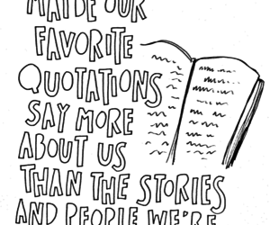 quote, book, and story image