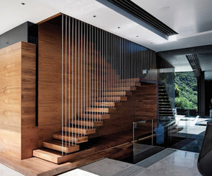 house, architecture, and stairs image