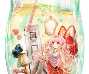 cup and animegirl image