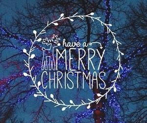 christmas, merry christmas, and lights image