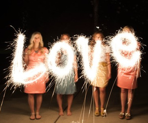 love and fireworks image