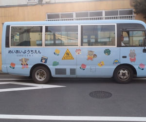 bus, cute, and japan image
