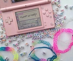 pink, grunge, and choker image
