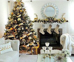 christmas, beautiful, and decoration image