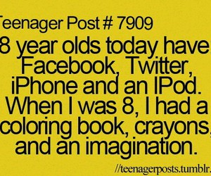 teenager post, facebook, and twitter image