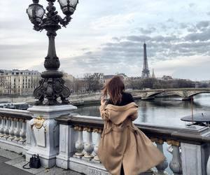 paris, girl, and city image