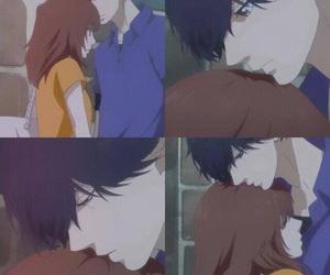 anime girl, cute couple, and manga boy image