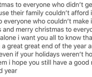 christmas and sad image