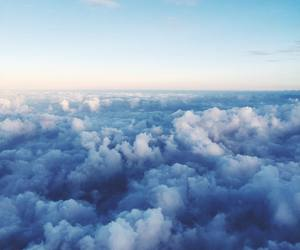 blue, clouds, and Dream image