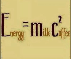 coffee, milk, and energy image
