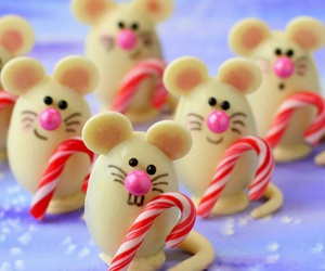 bakery, christmas, and mice image