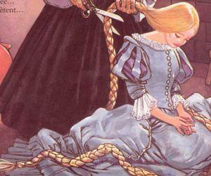 fantasy, girl, and rapunzel image