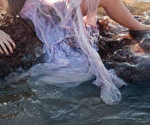 water and dress image