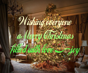 christmas, christmas tree, and merry christmas image