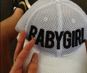 babygirl, hat, and style image