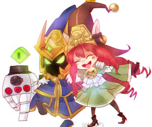 league of legends, lulu, and veigar image