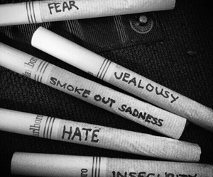 hate, smoke, and fear image