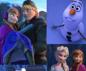anna, blue, and frozen image