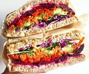 dinner, food, and vegetarian image