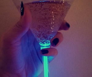 champagne, cristmas, and light image