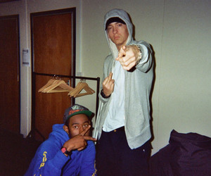 eminem, tyler the creator, and marshall mathers image