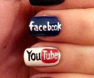 nails, facebook, and twitter image