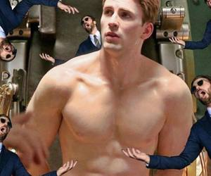 Avengers, chris evans, and Hot image