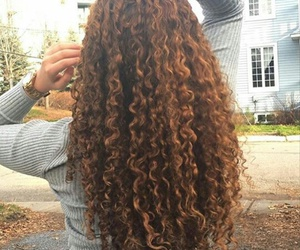 cheveux, curly, and curlyhair image