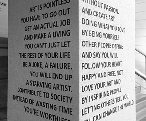 art, quote, and inspiration image