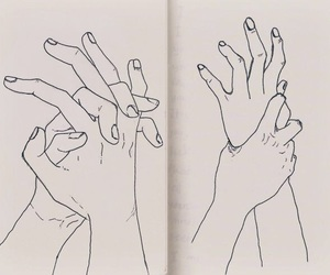 'love', 'draw', and 'hands' image