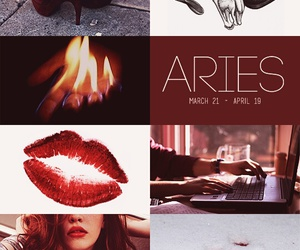 aesthetic, flame, and lips image