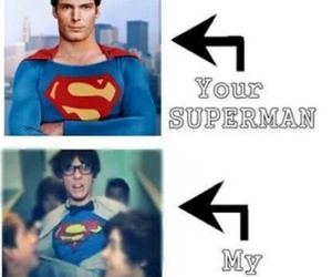 my superman, one direction, and louis tomlinson image
