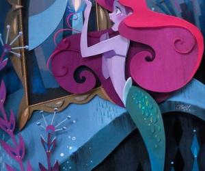 disney, disney princess, and the little mermaid image