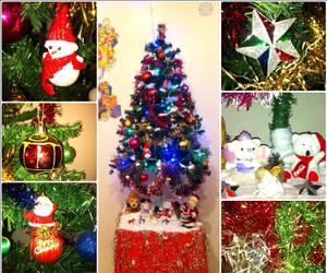 bear, christmas tree, and coca cola image