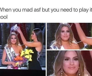 funny, miss universe, and tumblr post image