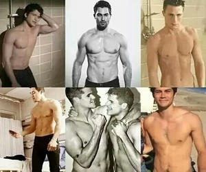 colton haynes, dylan o'brien, and tyler posey image