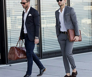 fashion, men, and look image