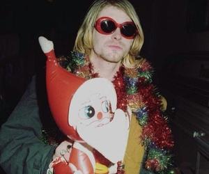 nirvana, kurt cobain, and christmas image
