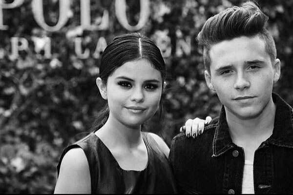selena gomez and brooklyn beckham image