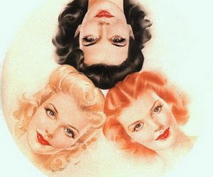 vintage, Pin Up, and women image