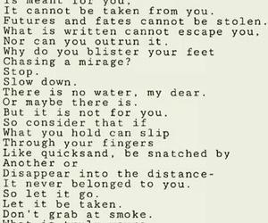 poetry, taqdeer, and letgo image