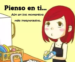quotes, thinking of you, and frases en español image