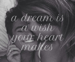 dreams, quote, and love image