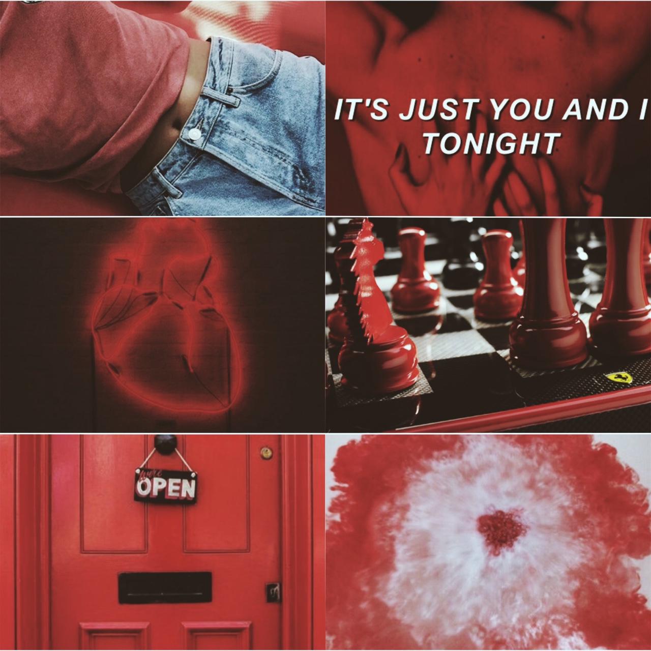 aesthetic, red, and red aesthetic image